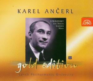 Ancerl Gold Edition 32: Les Noces, Domaninska, Mrazova, Ancerl, Tp