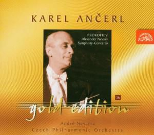 Ancerl Gold Edition 36: Serge Prokofieff, Soukupova, Navarra, Tp, K. Ancerl
