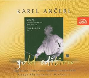 Ancerl Gold Edition 38: Klavierkonzerte Nr. 9 & 23, Czerny-stefanska, K. Ancerl, Tp