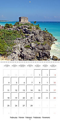 Ancient cultures of Central and South America - Lost Worlds (Wall Calendar 2019 300 × 300 mm Square) - Produktdetailbild 2