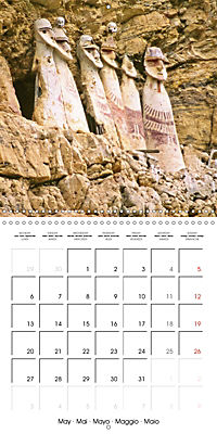 Ancient cultures of Central and South America - Lost Worlds (Wall Calendar 2019 300 × 300 mm Square) - Produktdetailbild 5