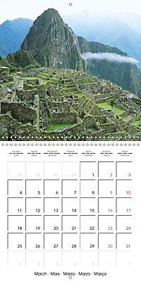 Ancient cultures of Central and South America - Lost Worlds (Wall Calendar 2019 300 × 300 mm Square) - Produktdetailbild 3