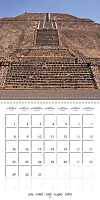 Ancient cultures of Central and South America - Lost Worlds (Wall Calendar 2019 300 × 300 mm Square) - Produktdetailbild 7