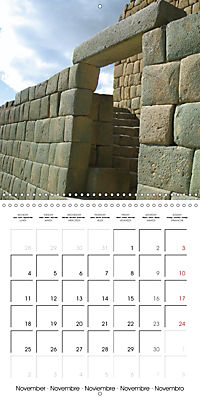 Ancient cultures of Central and South America - Lost Worlds (Wall Calendar 2019 300 × 300 mm Square) - Produktdetailbild 11