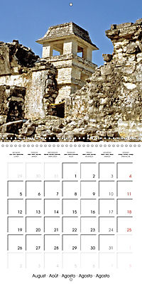 Ancient cultures of Central and South America - Lost Worlds (Wall Calendar 2019 300 × 300 mm Square) - Produktdetailbild 8