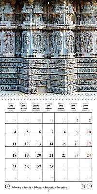 Ancient Indian Art (Wall Calendar 2019 300 × 300 mm Square) - Produktdetailbild 2