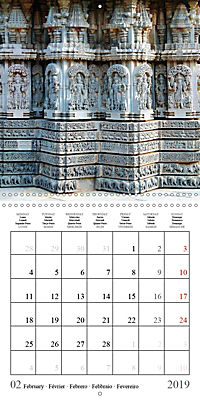 Ancient Indian Art (Wall Calendar 2019 300 × 300 mm Square) - Produktdetailbild 2