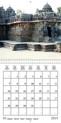 Ancient Indian Art (Wall Calendar 2019 300 × 300 mm Square) - Produktdetailbild 1