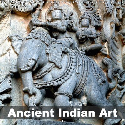 Ancient Indian Art (Wall Calendar 2019 300 × 300 mm Square), Rudolf Blank