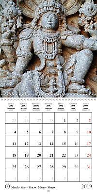 Ancient Indian Art (Wall Calendar 2019 300 × 300 mm Square) - Produktdetailbild 3