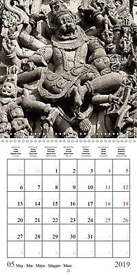 Ancient Indian Art (Wall Calendar 2019 300 × 300 mm Square) - Produktdetailbild 5