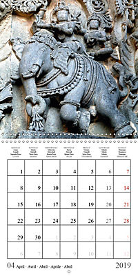Ancient Indian Art (Wall Calendar 2019 300 × 300 mm Square) - Produktdetailbild 4