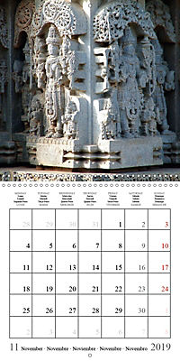 Ancient Indian Art (Wall Calendar 2019 300 × 300 mm Square) - Produktdetailbild 11