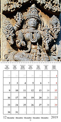Ancient Indian Art (Wall Calendar 2019 300 × 300 mm Square) - Produktdetailbild 12