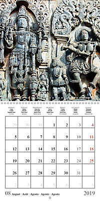 Ancient Indian Art (Wall Calendar 2019 300 × 300 mm Square) - Produktdetailbild 8