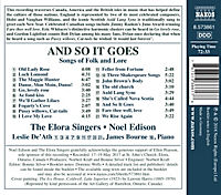 And So It Goes: Songs Of Folk And Lore - Produktdetailbild 1