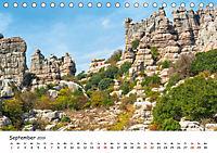 Andalusien - Weiße Dörfer und wilde Natur (Tischkalender 2019 DIN A5 quer) - Produktdetailbild 9
