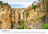 Andalusien - Weiße Dörfer und wilde Natur (Tischkalender 2019 DIN A5 quer) - Produktdetailbild 12