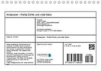 Andalusien - Weiße Dörfer und wilde Natur (Tischkalender 2019 DIN A5 quer) - Produktdetailbild 13