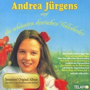 Andrea Jürgens singt die schönsten deutschen Volkslieder, Andrea Jürgens