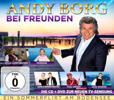 Andy Borg bei Freunden - Ein Sommerflirt am Bodensee (CD+DVD), Andy Borg
