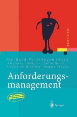 Anforderungs-Management, Gerhard Versteegen, Alexander Heßeler, Renate Stücka, Christian Missling, Colin Hood