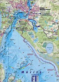 Angel- und Gewässerkarte Müritz und Plauer See 1:50.000 - Produktdetailbild 1