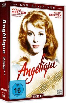 Angélique - Gesamtbox, Anne Golon, Serge Golon