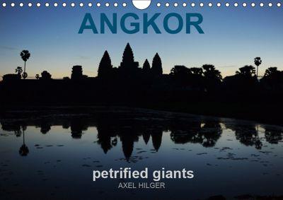 Angkor petrified giants (Wall Calendar 2019 DIN A4 Landscape), Axel Hilger