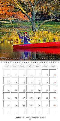 Angling - water, solitude and nature (Wall Calendar 2019 300 × 300 mm Square) - Produktdetailbild 6