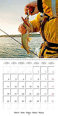 Angling - water, solitude and nature (Wall Calendar 2019 300 × 300 mm Square) - Produktdetailbild 3