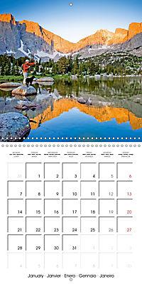 Angling - water, solitude and nature (Wall Calendar 2019 300 × 300 mm Square) - Produktdetailbild 1
