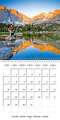 Angling - water, solitude and nature (Wall Calendar 2019 300 × 300 mm Square) - Produktdetailbild 1