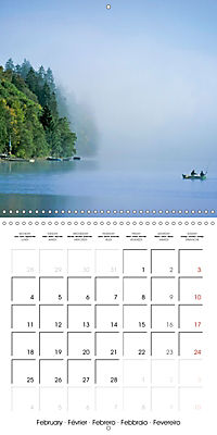 Angling - water, solitude and nature (Wall Calendar 2019 300 × 300 mm Square) - Produktdetailbild 2