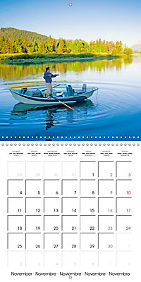 Angling - water, solitude and nature (Wall Calendar 2019 300 × 300 mm Square) - Produktdetailbild 11