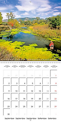 Angling - water, solitude and nature (Wall Calendar 2019 300 × 300 mm Square) - Produktdetailbild 9