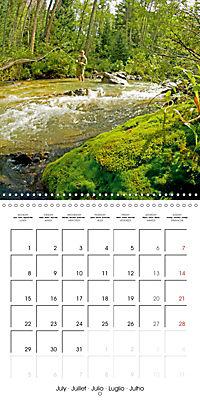 Angling - water, solitude and nature (Wall Calendar 2019 300 × 300 mm Square) - Produktdetailbild 7