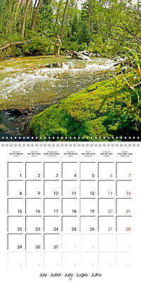 Angling - water, solitude and nature (Wall Calendar 2019 300 × 300 mm Square) - Produktdetailbild 7
