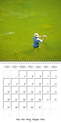 Angling - water, solitude and nature (Wall Calendar 2019 300 × 300 mm Square) - Produktdetailbild 5