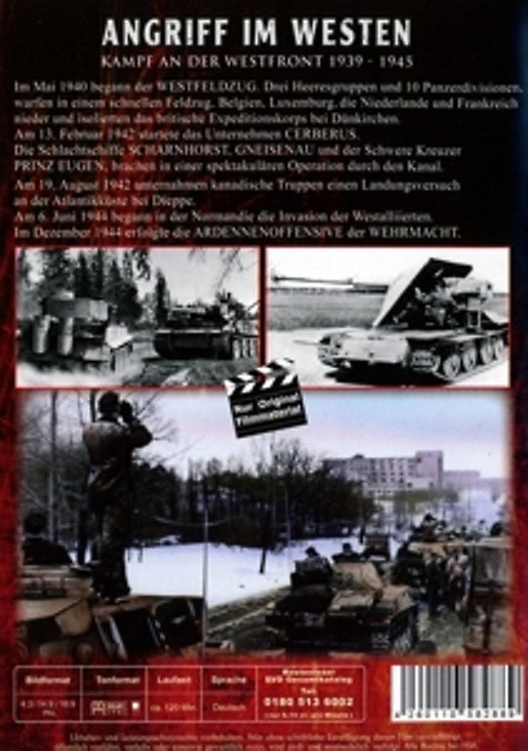 Angriff im Westen - Kampf an der Westfront 1939-1945 Film ...