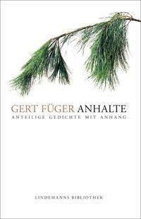 Anhalte - Gert Füger |