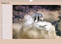 Animalische Absurditäten mit Planer (Wandkalender 2019 DIN A4 quer) - Produktdetailbild 2