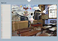 Animalische Absurditäten mit Planer (Wandkalender 2019 DIN A4 quer) - Produktdetailbild 6
