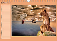 Animalische Absurditäten mit Planer (Wandkalender 2019 DIN A4 quer) - Produktdetailbild 9