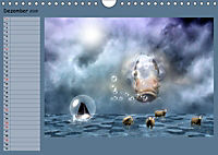 Animalische Absurditäten mit Planer (Wandkalender 2019 DIN A4 quer) - Produktdetailbild 12
