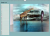 Animalische Absurditäten mit Planer (Wandkalender 2019 DIN A3 quer) - Produktdetailbild 1