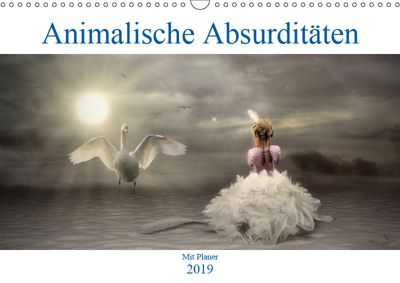Animalische Absurditäten mit Planer (Wandkalender 2019 DIN A3 quer), Garrulus glandarius