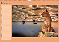 Animalische Absurditäten mit Planer (Wandkalender 2019 DIN A3 quer) - Produktdetailbild 9