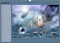 Animalische Absurditäten mit Planer (Wandkalender 2019 DIN A3 quer) - Produktdetailbild 12