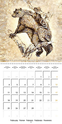 Animals inspired by Frank W. Benson (Wall Calendar 2019 300 × 300 mm Square) - Produktdetailbild 2